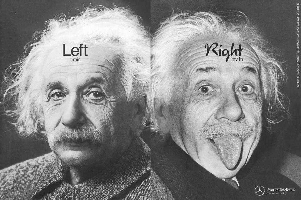 Einstein left-right