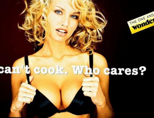 La donna in pubblicità. Più oggetto che soggetto.