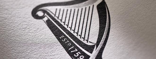 Guinness rebrand. Restyling della celebre arpa.