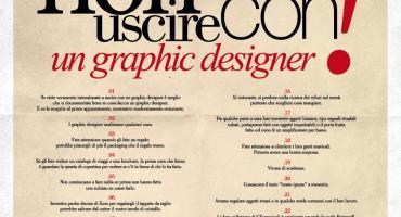 30 motivi per cui sarebbe meglio non frequentare un graphic designer.