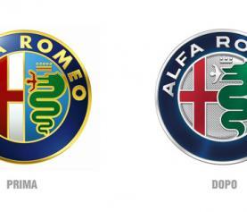 Alfa Romeo logo restyling.