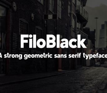 FiloBlack Typeface