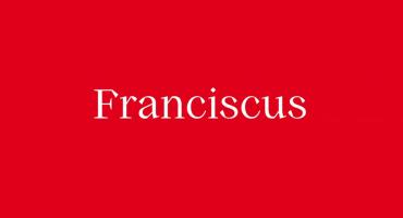 Nasce Franciscus. Il primo font digitale della Chiesa.