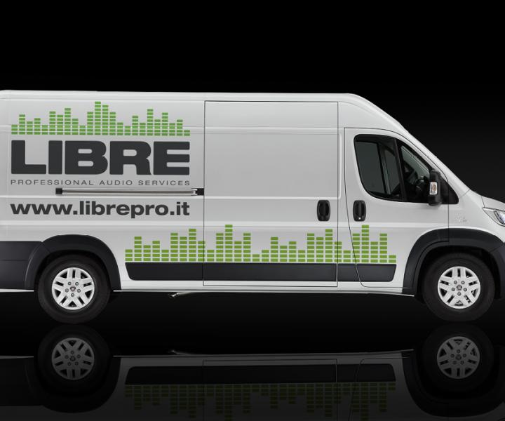 Libre. Professional audio services – Identity