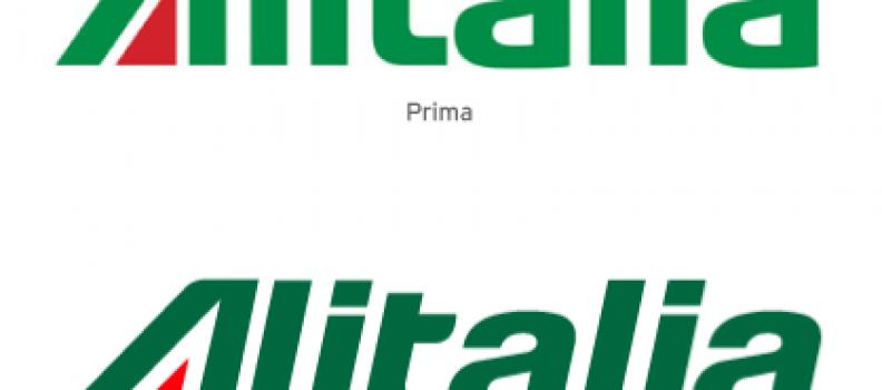 Alitalia rebranding. 520.000 € per non fare nulla.
