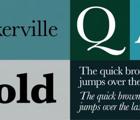 Questione di carattere: il Baskerville.