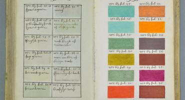 Un artista ha codificato i colori 271 anni prima della Pantone.