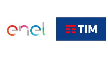 """TIM vs ENEL: due diversi modi di """"rinfrescare"""" la brand image."""